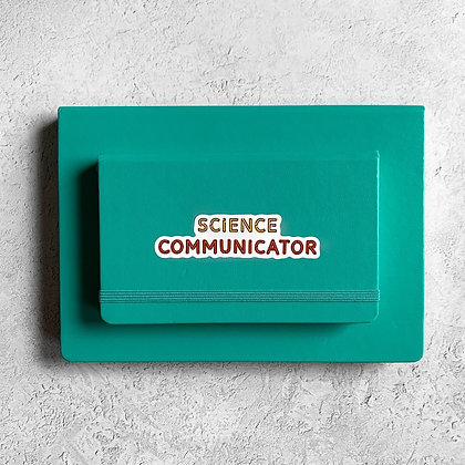 Science Communicator Sticker