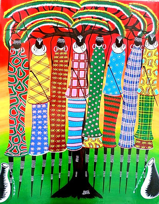 """Preserving Maasai Cultural Dress"""