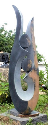 """""""Dancing Lovers Happy Moments"""" Springstone Sculpture"""