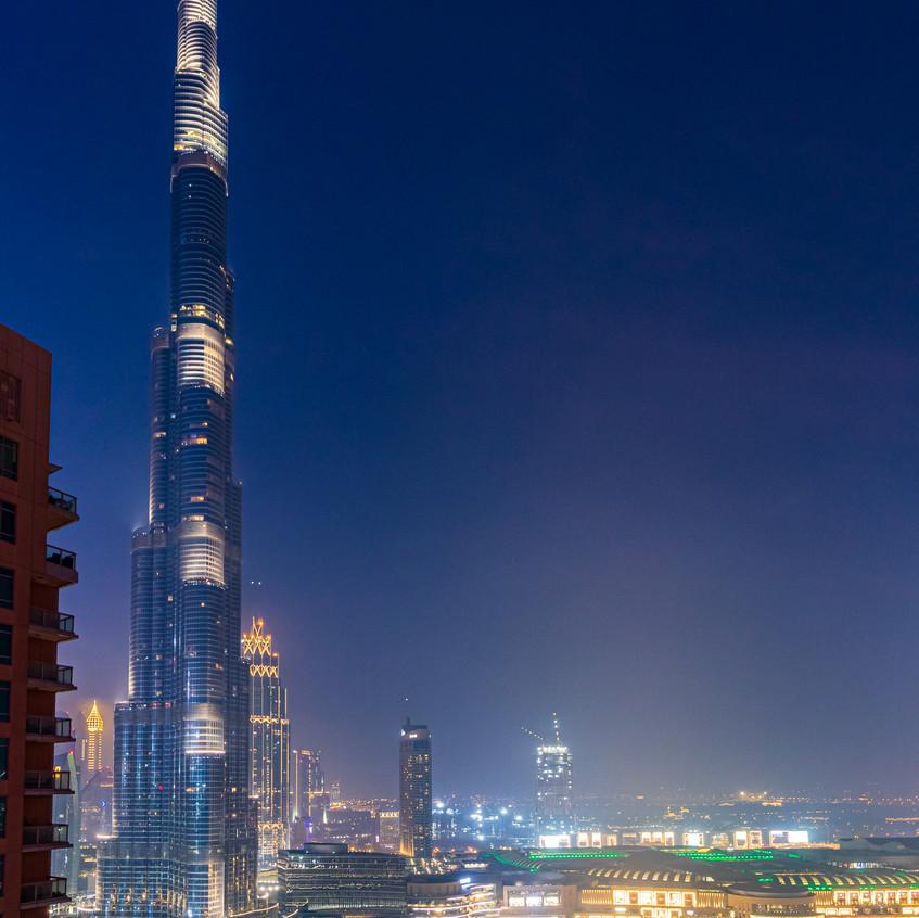 The Icnoic Burj Khalifa