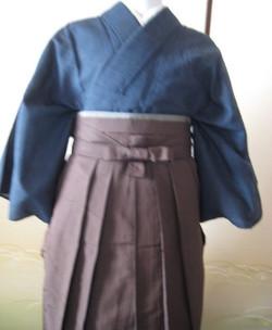 男袴の着付け