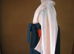 女袴の着付