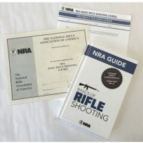 NRA Basic Rifle Shooting Course Student Packet NY