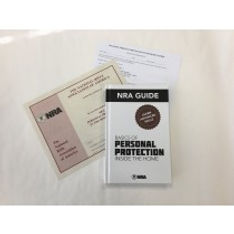 NRA Basic Personal Protection in the Home Student Packet NY