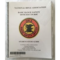 NRA Basic Range Safety Officer Course Materials NY