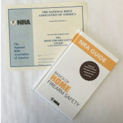 NRA Basic Home Firearm Safety Course Student Packet NY.