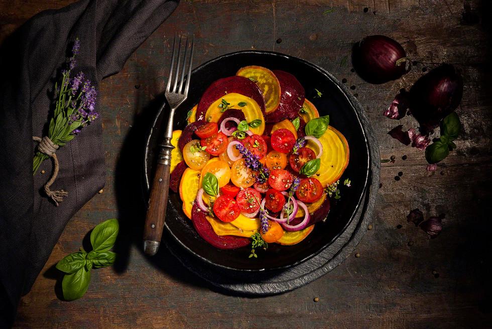 Tomaten Rote Bete Salat