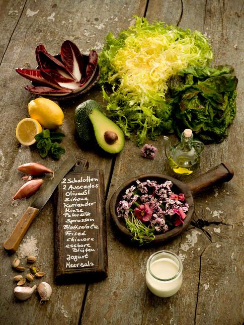 Gemüse und Salat Rezept