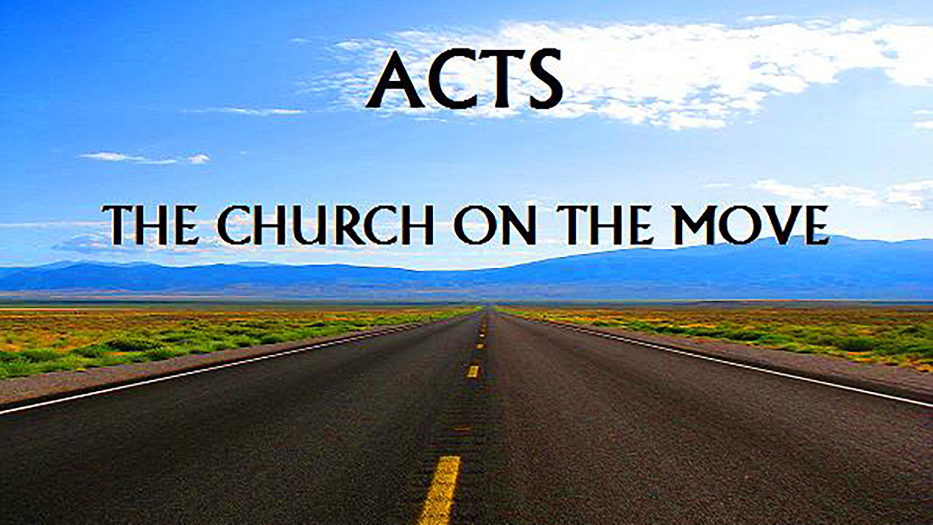 The Church on the Move