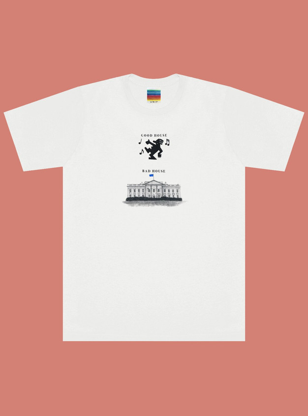 "UNIF ""Good House Bad House"" T-Shirt, £39"