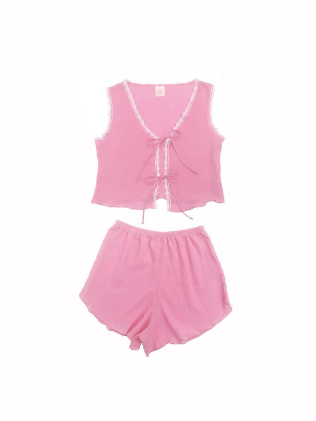 Lisa Says Gah Pajama Set - Pink, $88