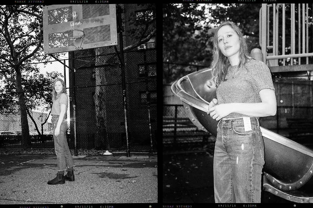 Julia Jacklin in Greenpoint, Brooklyn, September 2018 by Tia Glista for Couturesque magazine