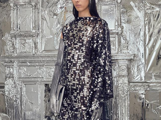 MM6 MARGIELA'S COLLECTION WAS A GIANT DISCO BALL