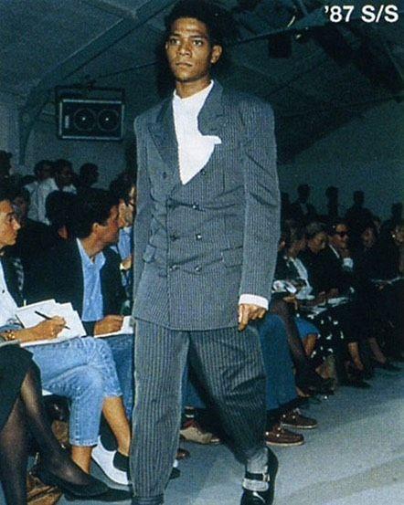 Jean-Michel Basquiat for Comme des Garcons 1981