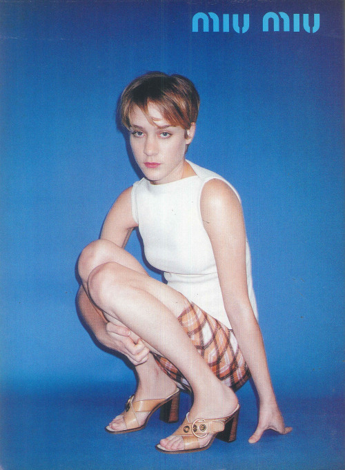 Chloe Sevigny in The Face - March 1996