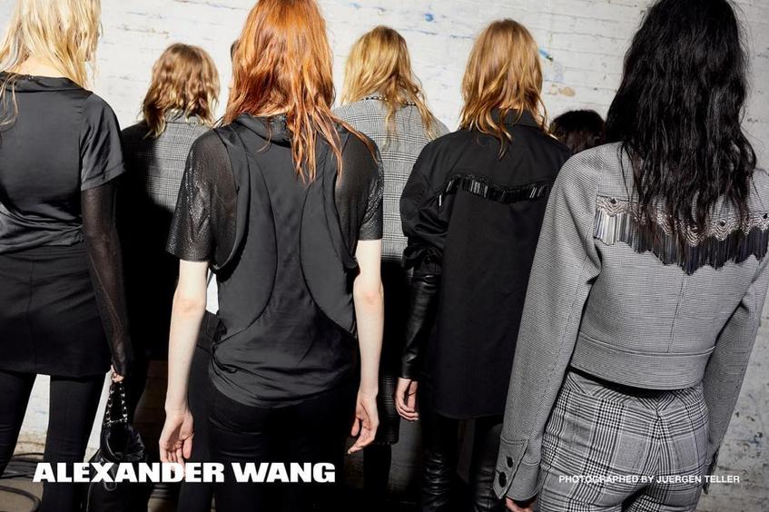 Alexander Wang by Juergen Teller