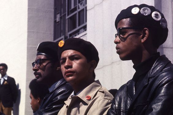 Brown Berets and Black Panthers in Oakland, CA (1968)