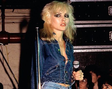 A tousled, chopped, and possibly platinum cut is the signature element of Blondie's Debbie Harry's effortless look.