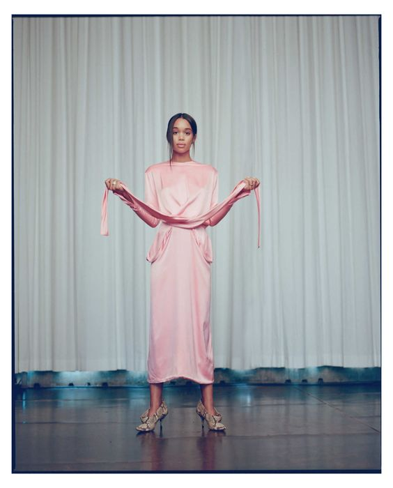 Laura Harrier for The Cut