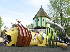 O playground selvagem de Odense
