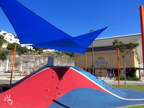 Instalação de toldos em playgrounds