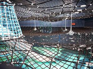 O playground marítimo de cordas
