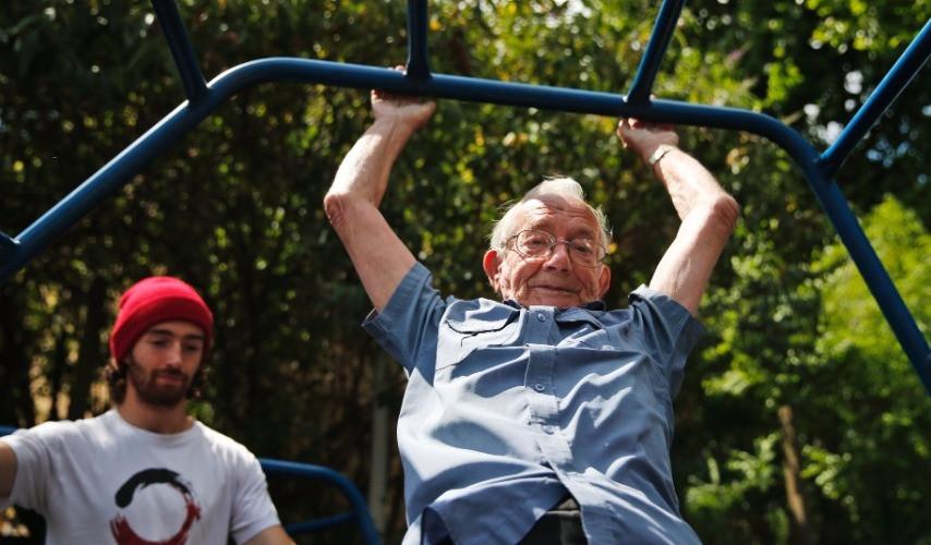 playground para idosos