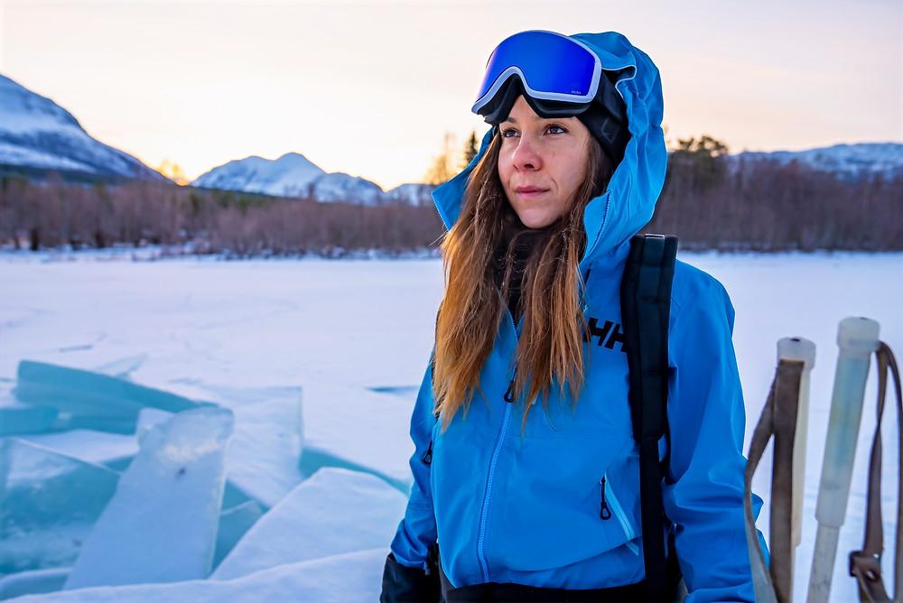 #carolinecote #adventure #womanadventurer #adventurer #polarexplorer #womanexplorer #explorer #canadianwoman