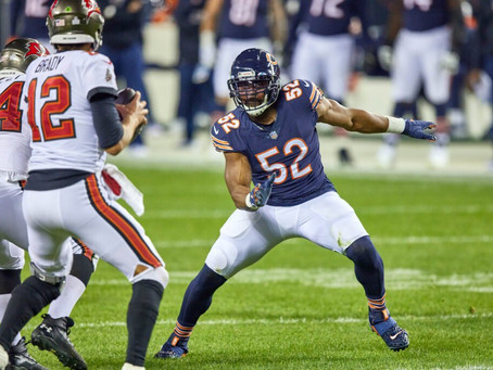 NFL Position Ranking Roulette: The Top 12 Edge Defenders Following the 2020 Season