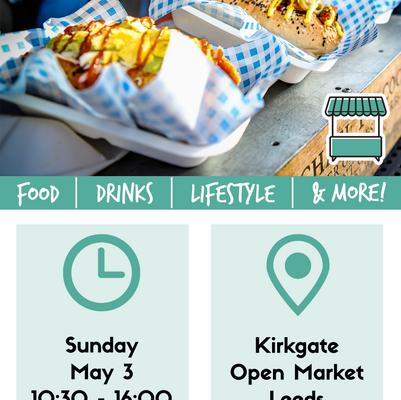 Leeds Kirkgate Vegan Market