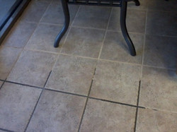 Grout cleaning and painting