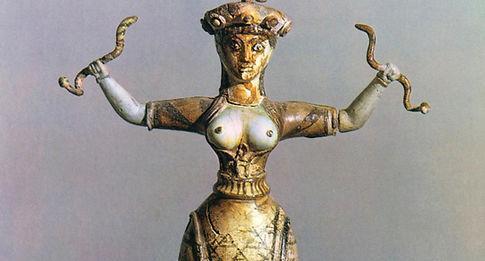 Goddess Tour-Crete Snake Goddess