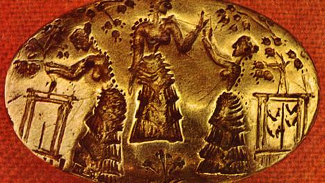Harvest Ritual in Ancient Crete