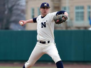 Naval Academy Pitcher, Trey Braithwaite, Winter Break Workout