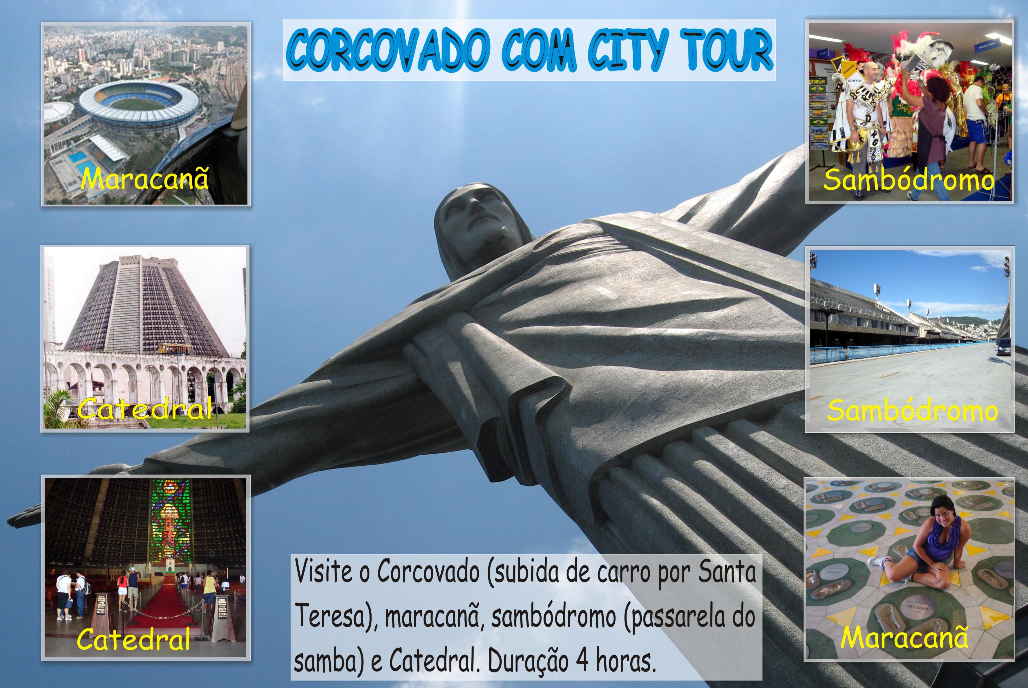CORCOVADO Y CITY TOUR