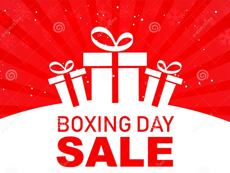 BOXING DAY SALE | KEMNAY PRO SHOP