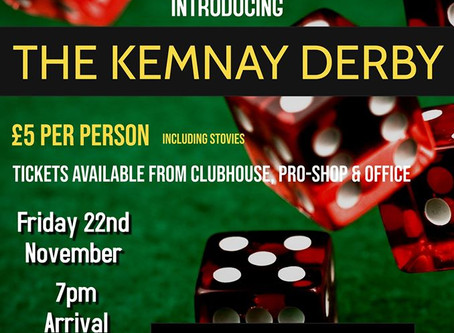 Race Night | The Kemnay Derby