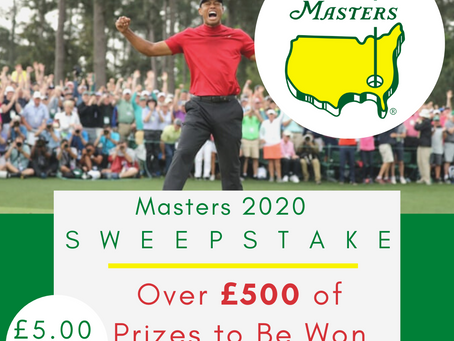 The Masters Sweepstake | Draw