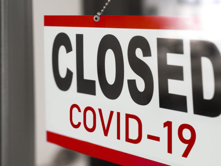 Covid-19 Update | Pro Shop Closed