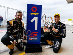 Pole, victory and points haul for Andre at The Bend
