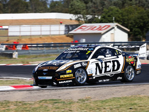 Andre Heimgartner completes first official test day of 2021