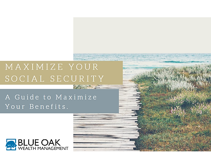 Maximize Your Social Security mini guide