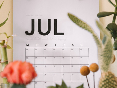 Important July 2020 Due Dates to Mark On Your Calendar