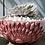 Thumbnail: Sonnenschale Stern rosé/silber