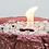 Thumbnail: Vulkanschale Relief BIG rosé/silber