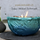 Thumbnail: Vulkanschale Relief BIG türkis/blau