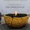 Thumbnail: Vulkanschale Relief BIG gold/bronze