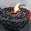 Thumbnail: Vulkanschale Mandala BIG rot/anthrazit