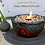 Thumbnail: Vulkanschale Relief BIG anthrazit/rot