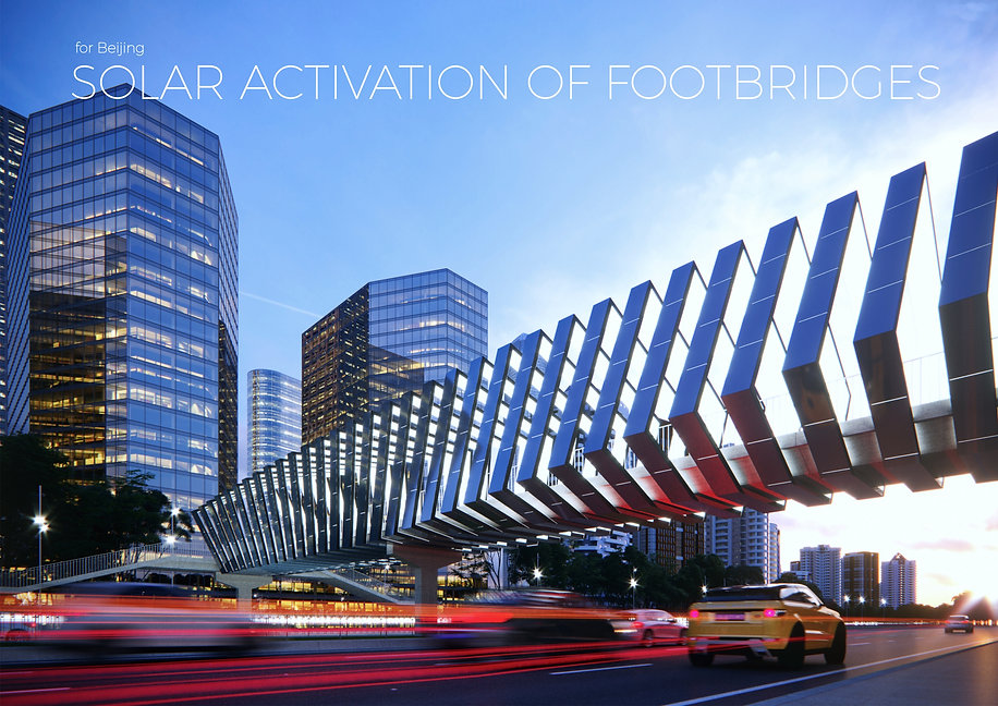 SOLAR ACTIVATION OF FOOTBRIDGES FOR BEIJING